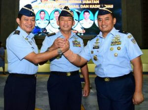 Sertijab Kadispenau Pilot Tempur F-16 Pimpin Kehumasan TNI AU