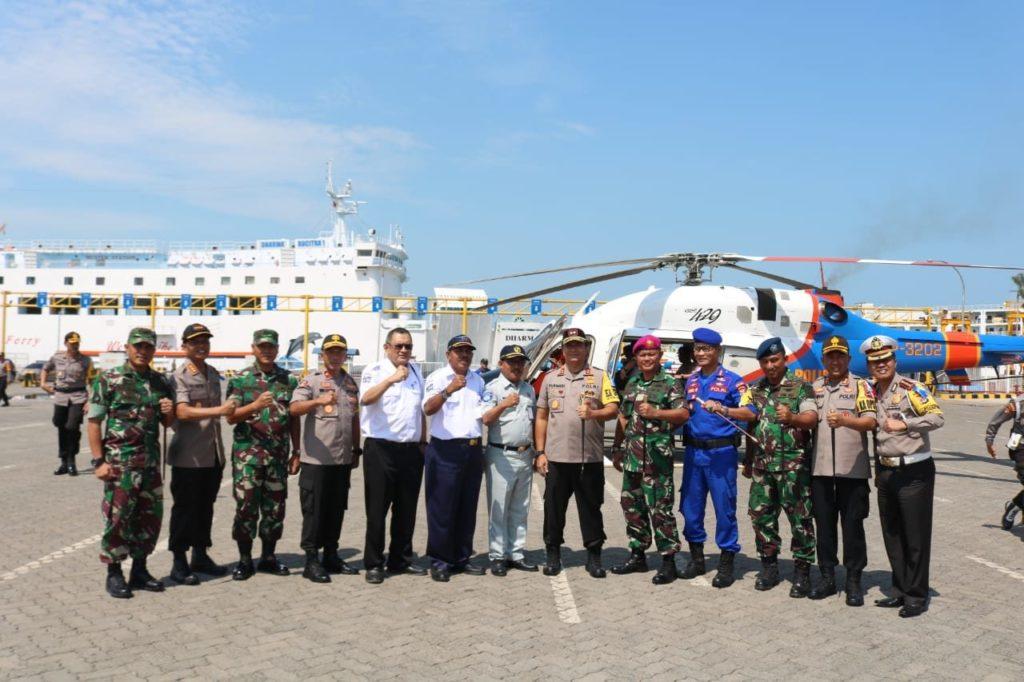 Peninjauan Arus Mudik di Provinsi Lampung