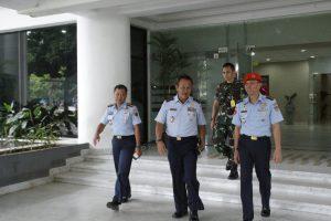 Kunjungan Aspotdirga Kasau Ke Pemerintah Provinsi Sulut