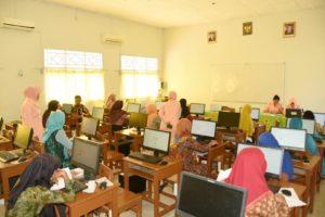 Ujian Kompetensi Guru (UKG) di SMP Angkasa Lanud BNY