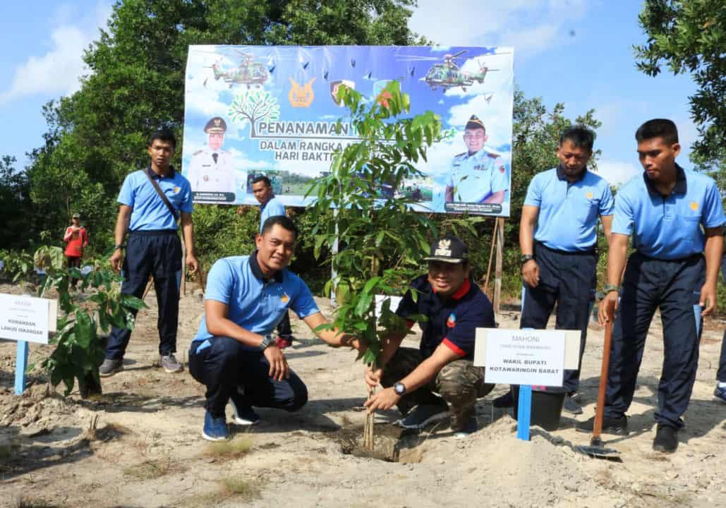 Penanaman Seribu Pohon Dalam Rangka Hari Bhakti Tni Au Ke-72