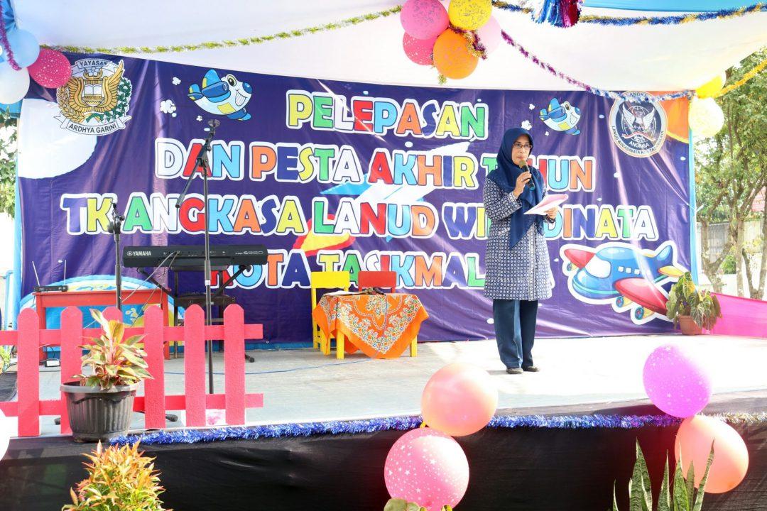 Pelepasan Dan Pesta Akhir Tahun Tk. Angkasa Kota Tasikmalaya