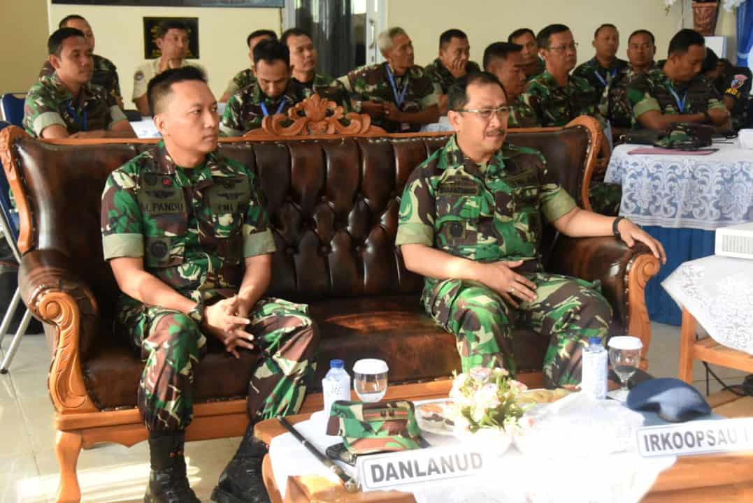 Kunjungan Tim Wasrikkap Itkoopsau I Di Lanud Wiriadinata