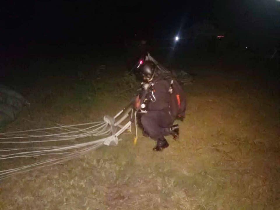 Tim Dalpur Denmatra 2 Paskhas Infiltrasi Ke Daerah Musuh