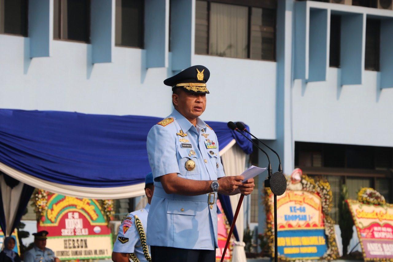 Pangkoopsau I Pimpin Upacara Peringatan Hut Ke-68 Koopsau Tahun 2019 Di Makoopsau I