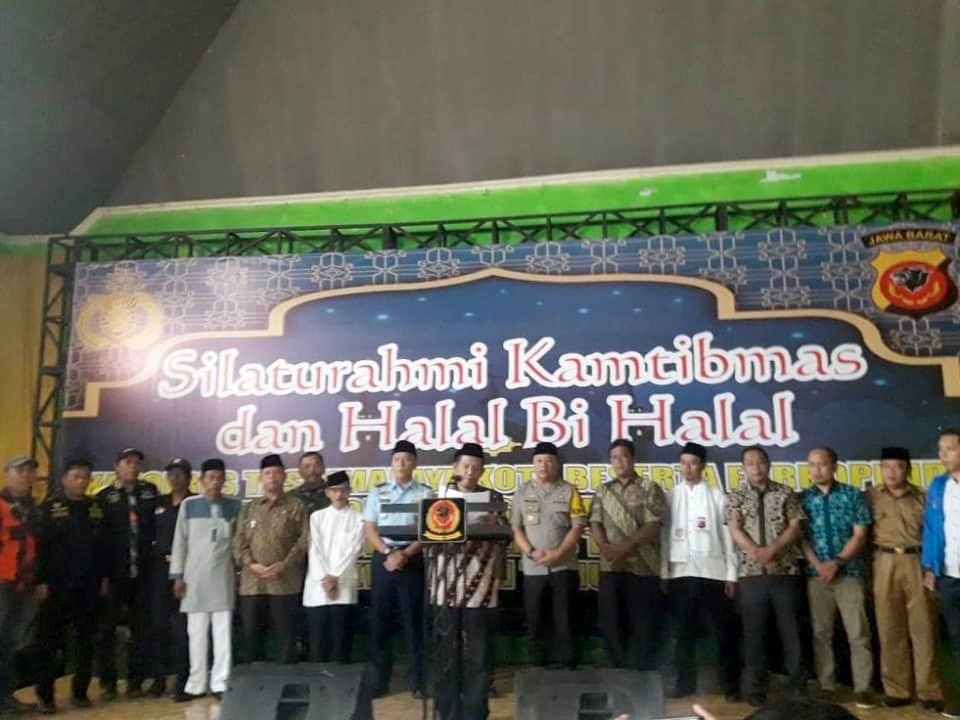 Silaturahmi Kamtibmas Dan Halal Bi Halal
