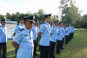 Upacara Peringatan HUT Koopsau Ke-68 Tahun 2019 di Lanud Iskandar