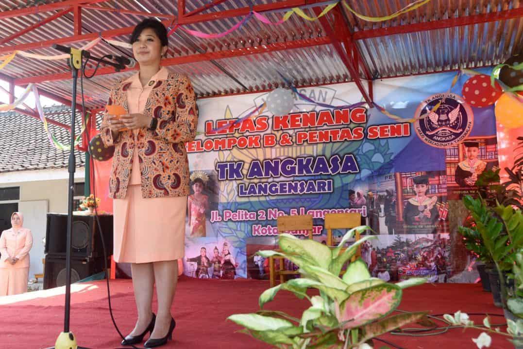 Lepas Kenang Kelompok B Dan Pentas Seni Tk. Angkasa Langensari Kota Banjar