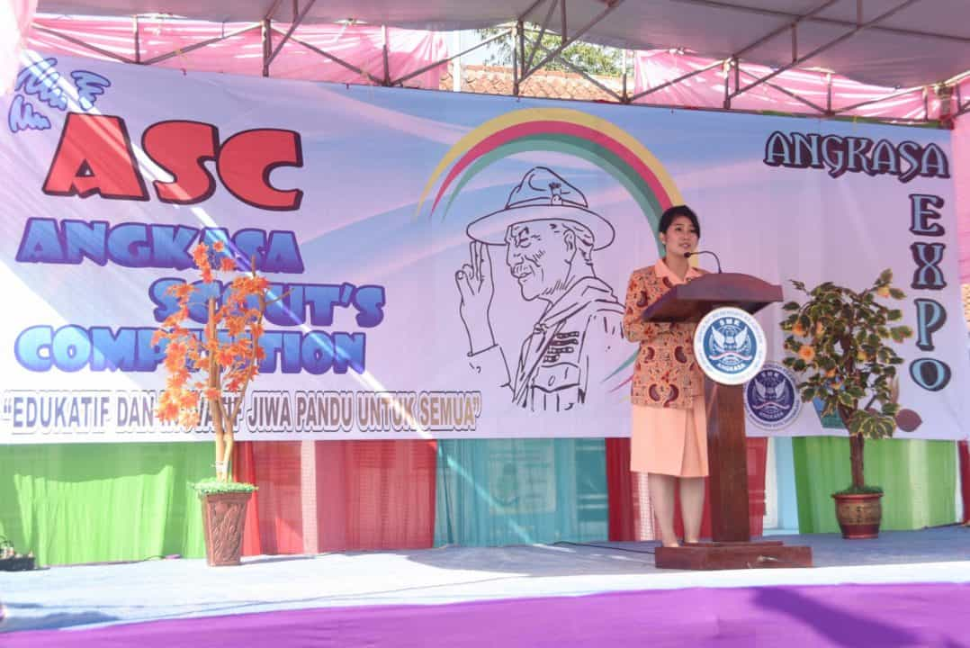 Ketua Yasarini Cabang Lanud Wiriadinata, Buka Expo Smk Angkasa Kota Tasikmalaya Tahun 2019