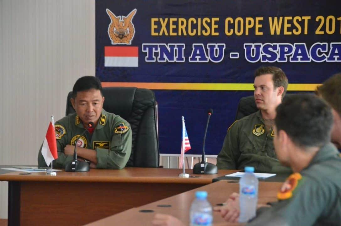 """Cope West 2019: Pilot F-16 Tni Au Dan Usaf """"duel"""" Di Udara"""