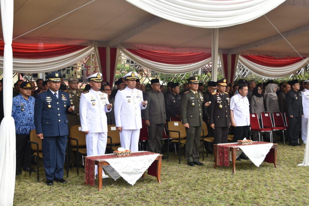 Upacara Peringatan Hari Lahir Pancasila di Provinsi Lampung.