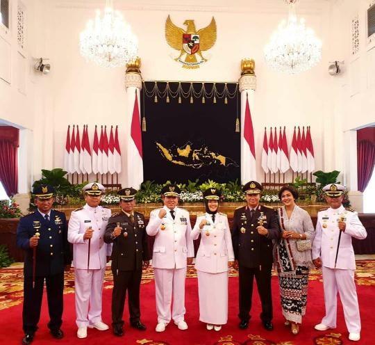 Pelantikan Gubernur dan Wakil Gubernur Provinsi Lampung