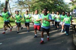 Lanud Ash Tes Kesamaptaan Jasmani Di Kawasan Pantai Wisata Tanjungpendam
