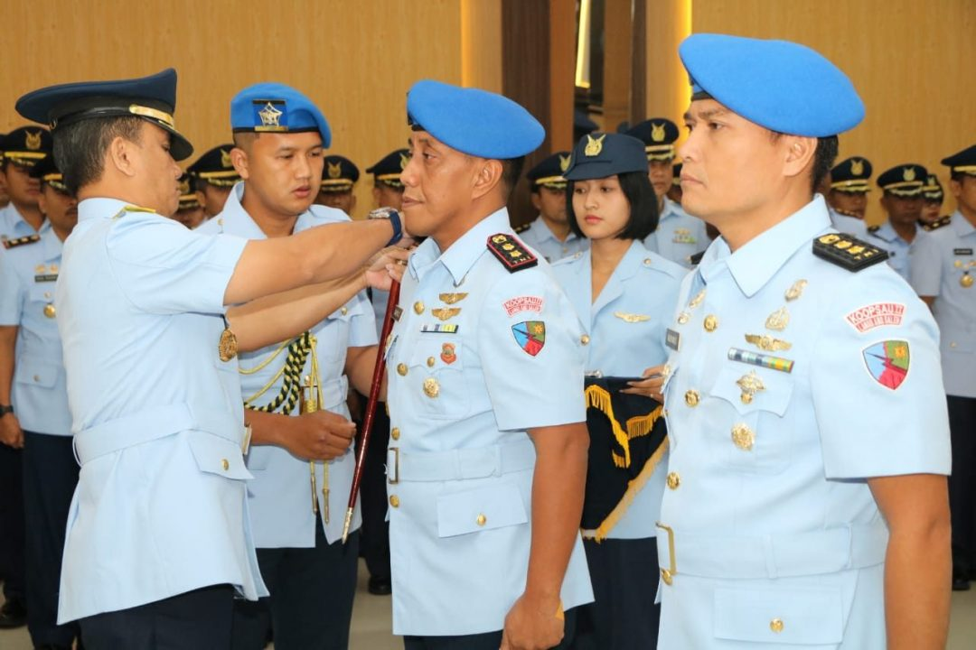 Letkol Pom Karyanto Jabat Dansatpomau Lanud Abdulrachman Saleh
