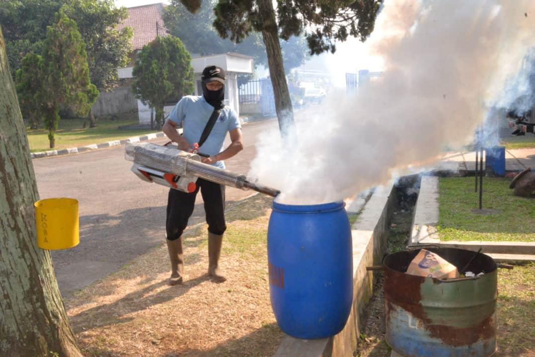 Mencegah Dbd Lanud Husein Sastranegara Laksanakan Fogging