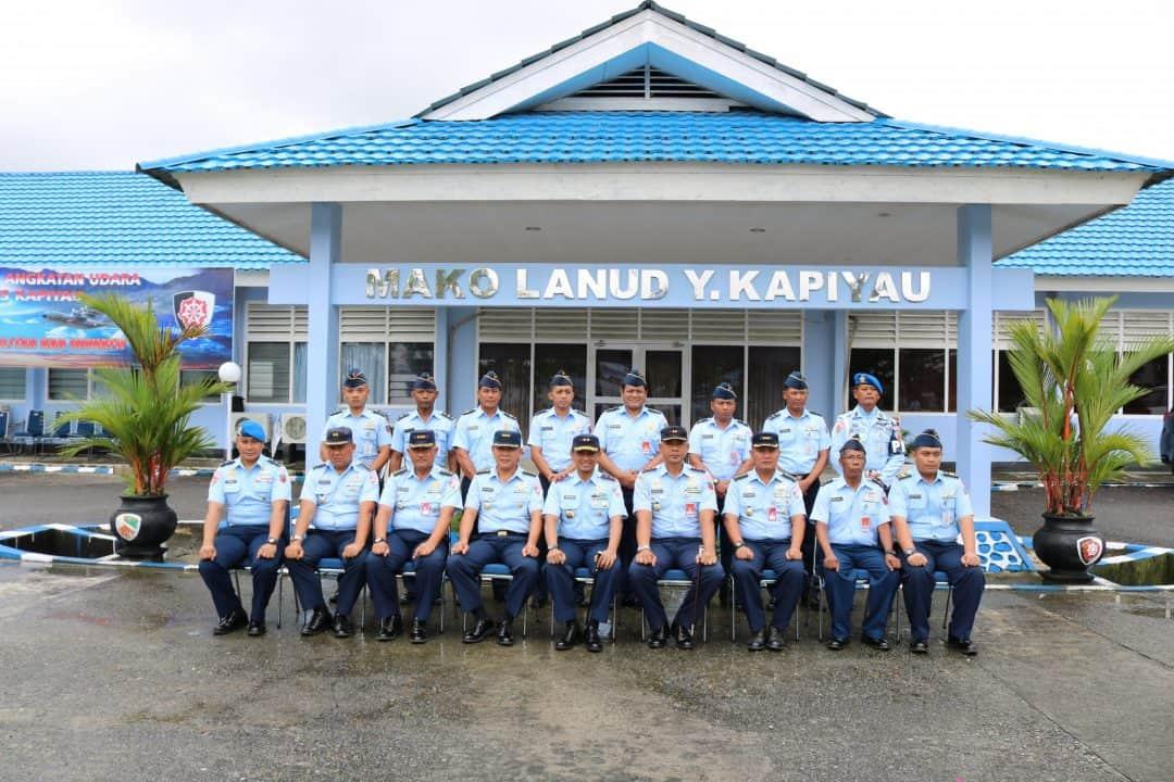 Kunjungan Pangkoopsau Iii Di Lanud Yohanis Kapiyau Timika