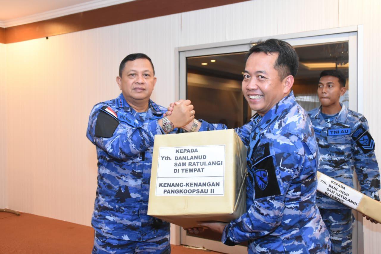 Pangkoopsau II Melaksanakan Kuker dan Tinjau Latma Cope West Tahun 2019 di Lanud Sam Ratulangi