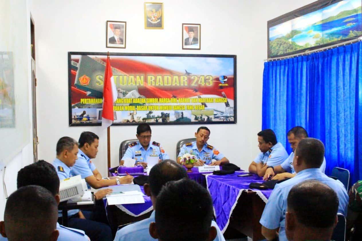 Kunjungan Kerja Pangkosekhanudnas Iv Di Satrad 243 Timika