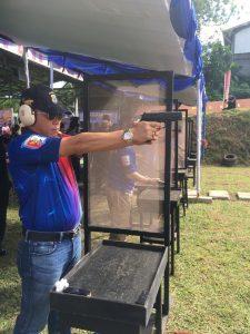Turnamen Menembak Dalam Rangka Hari Bhayangkara Ke-73
