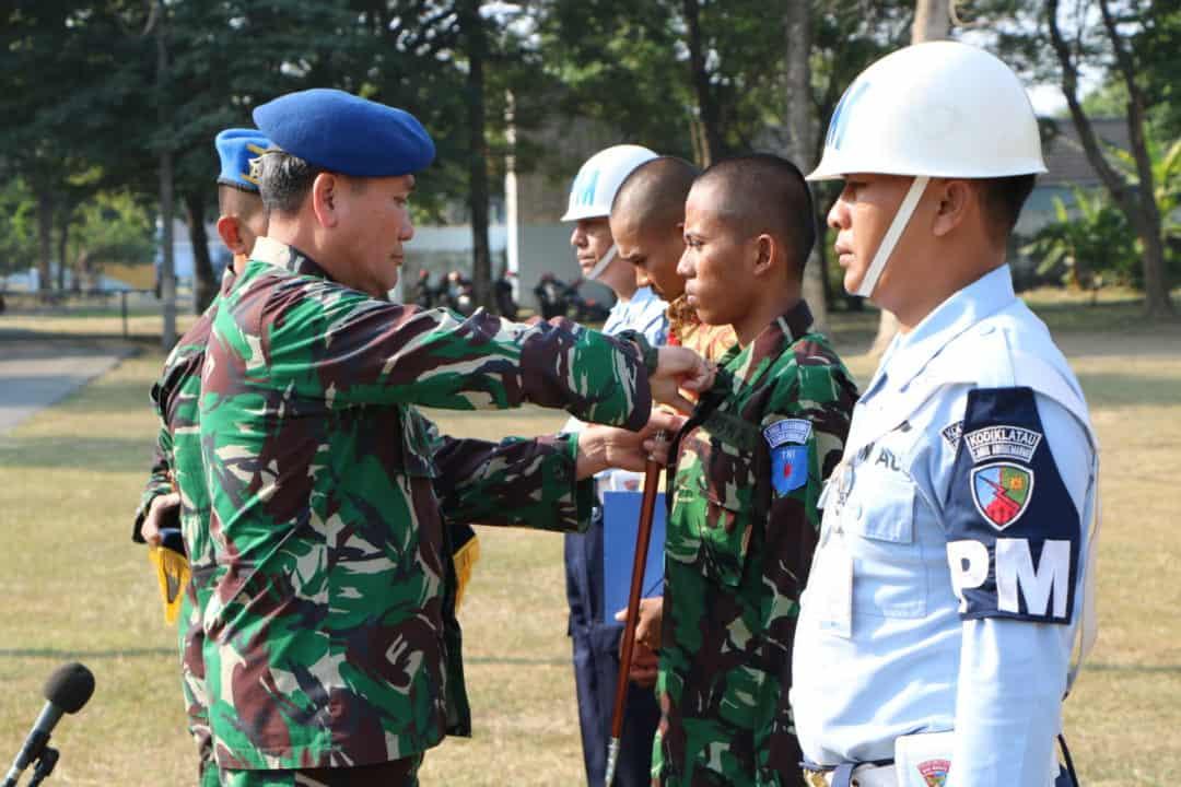 Upacara Pemberhentian Dengan Tidak Hormat 2 Orang Siswa Semata Pk Tni Au Angkatan-77