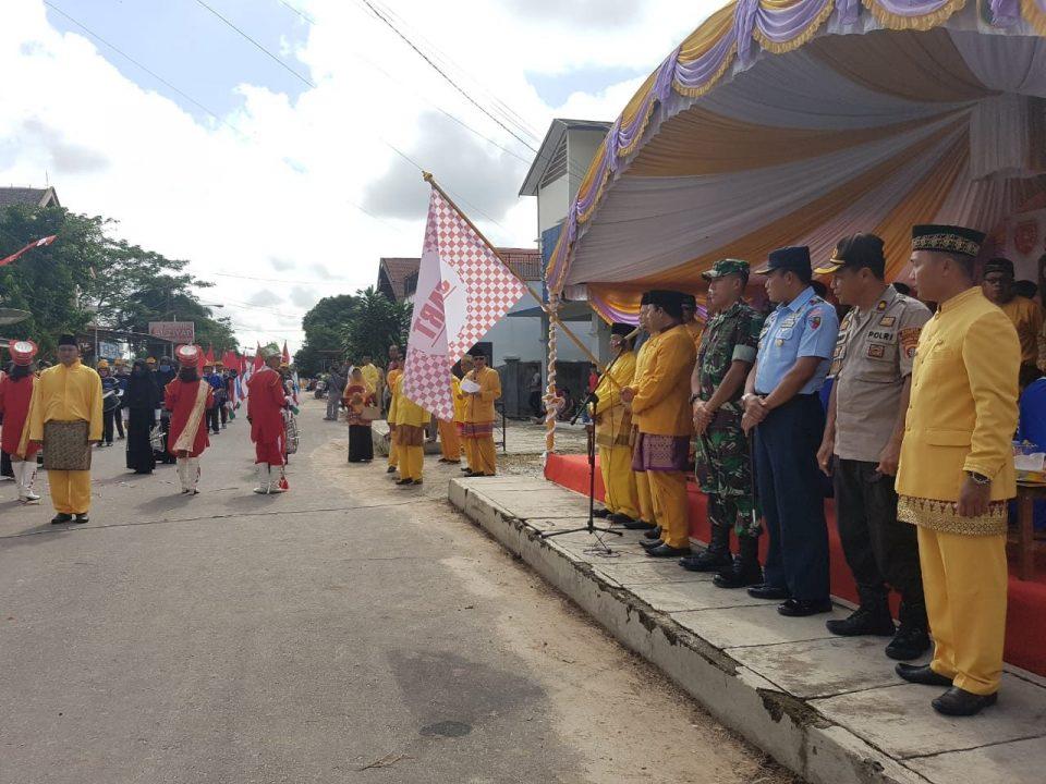 Komandan Lanud Hadiri Peringatan Hari Jadi Kotaringin Ke-416