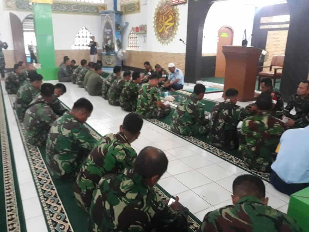 Doa Bersama Awali Gladi Lapangan Latihan Kesiapsiagaan Operasional Koopsau I