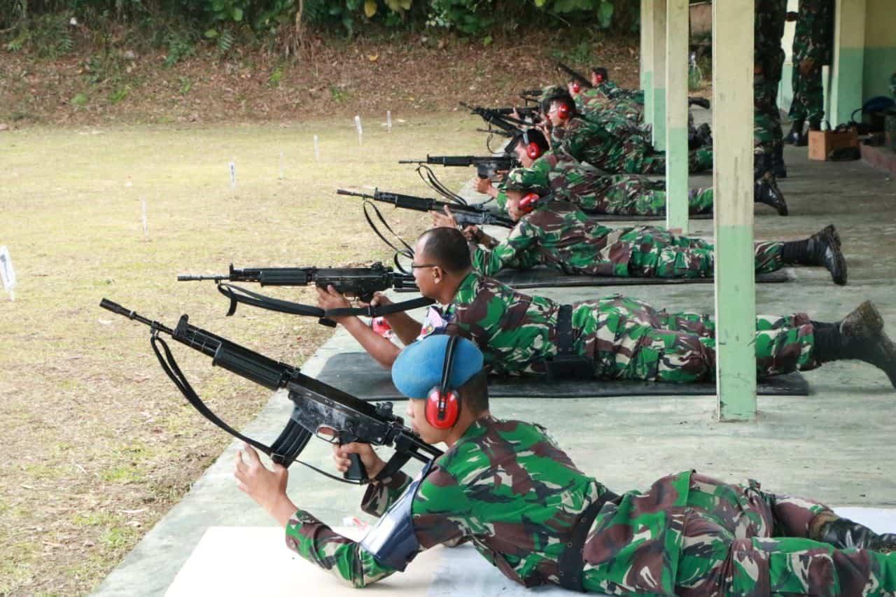 """Danlanud Sutan : Sjahrir """" Manfaatkan Latihan Menembak Kali Ini Dengan Baik Dan Perhatikan Faktor Keamanan """""""