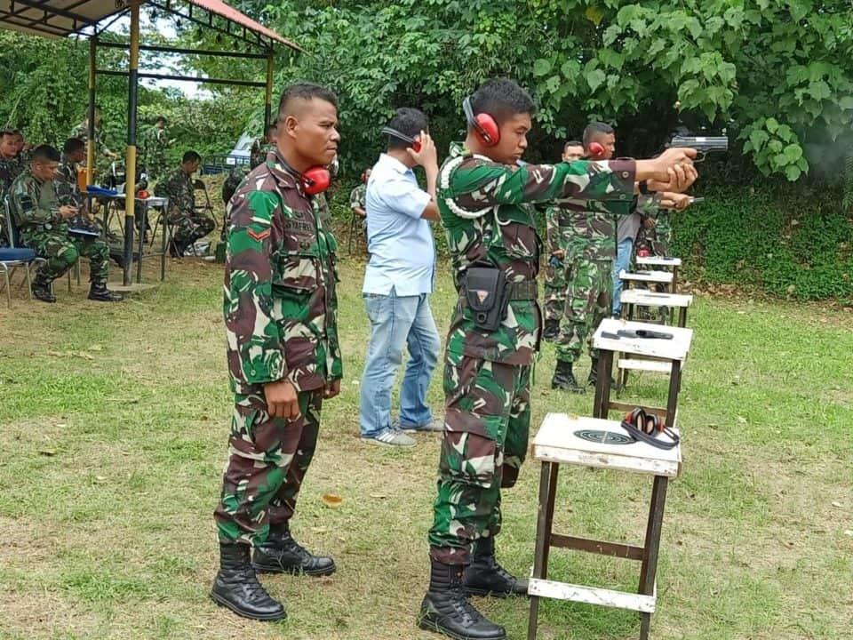 """Danlanud Sutan Sjahrir : """" Manfaatkan Latihan Menembak Kali Ini Dengan Baik Dan Perhatikan Faktor Keamanan """""""