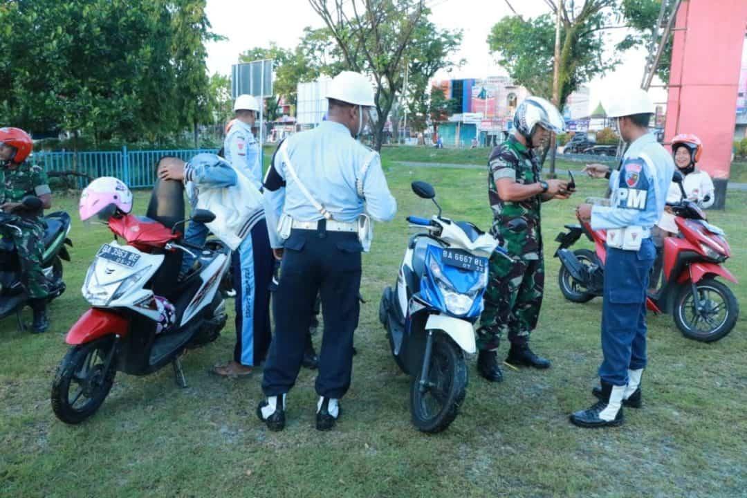 Satpom Lanud Sutan Sjahrir Laksanakan Operasi Gaktib