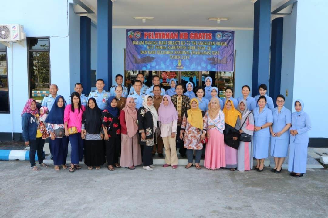 Pelayanan Kb Gratis Di Rsau Dr. M. Sutomo Lanud Supadio