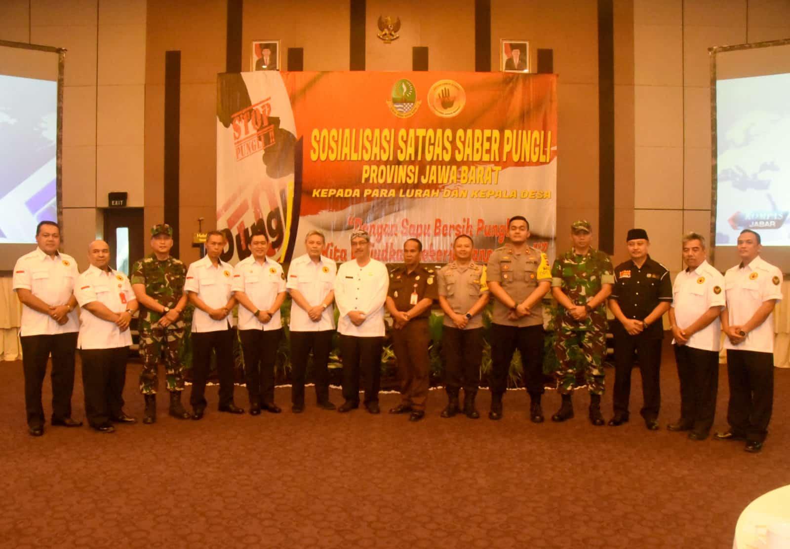 Danlanud Wiriadinata Menghadiri Pembukaan Sosialisasi Saber Pungli Tingkat Provinsi Jawa Barat