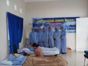 Bakti Sosial Donor Darah Di Lanud Yohanis Kapiyau Timika Dalam Rangka Memperingati Hari Bakti Tni Au Ke-72