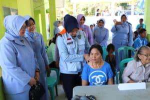 Bakti Sosial Pegobatan Masal Di Lanud El Tari Kupang
