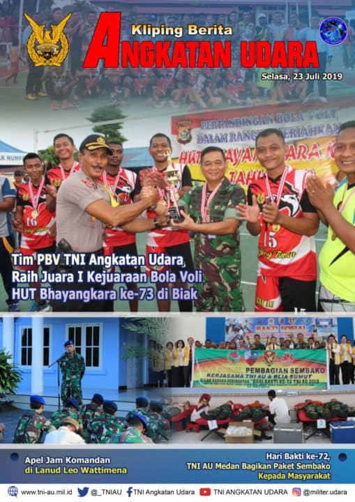 Kliping Berita Media 23 Juli 2019