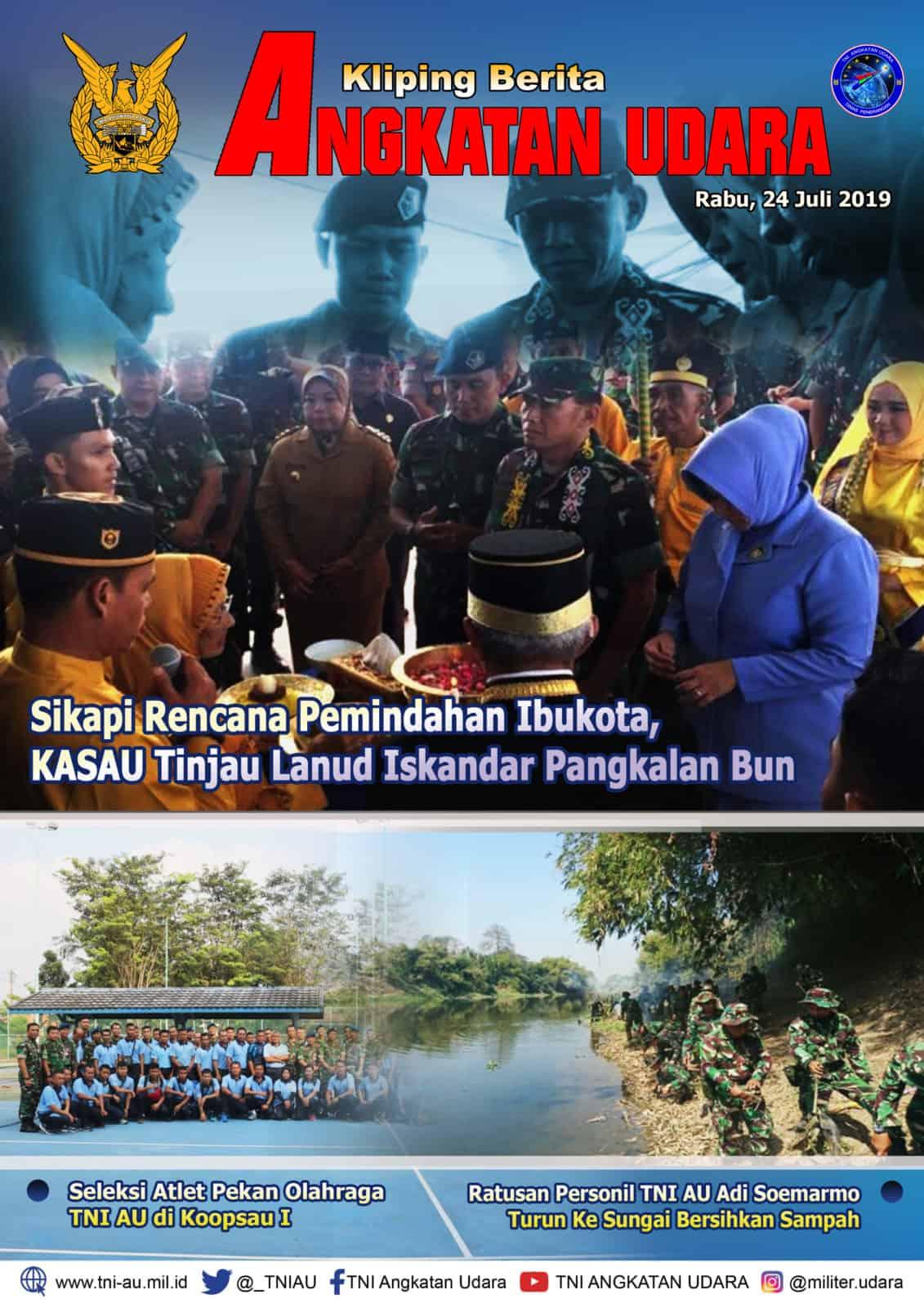 Kliping Berita Media 24 Juli 2019