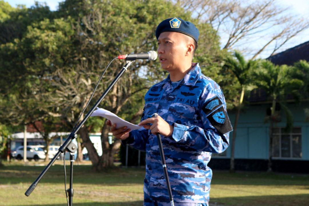 Komandan Lanud Wiriadinata Pimpin Upacara 17-an