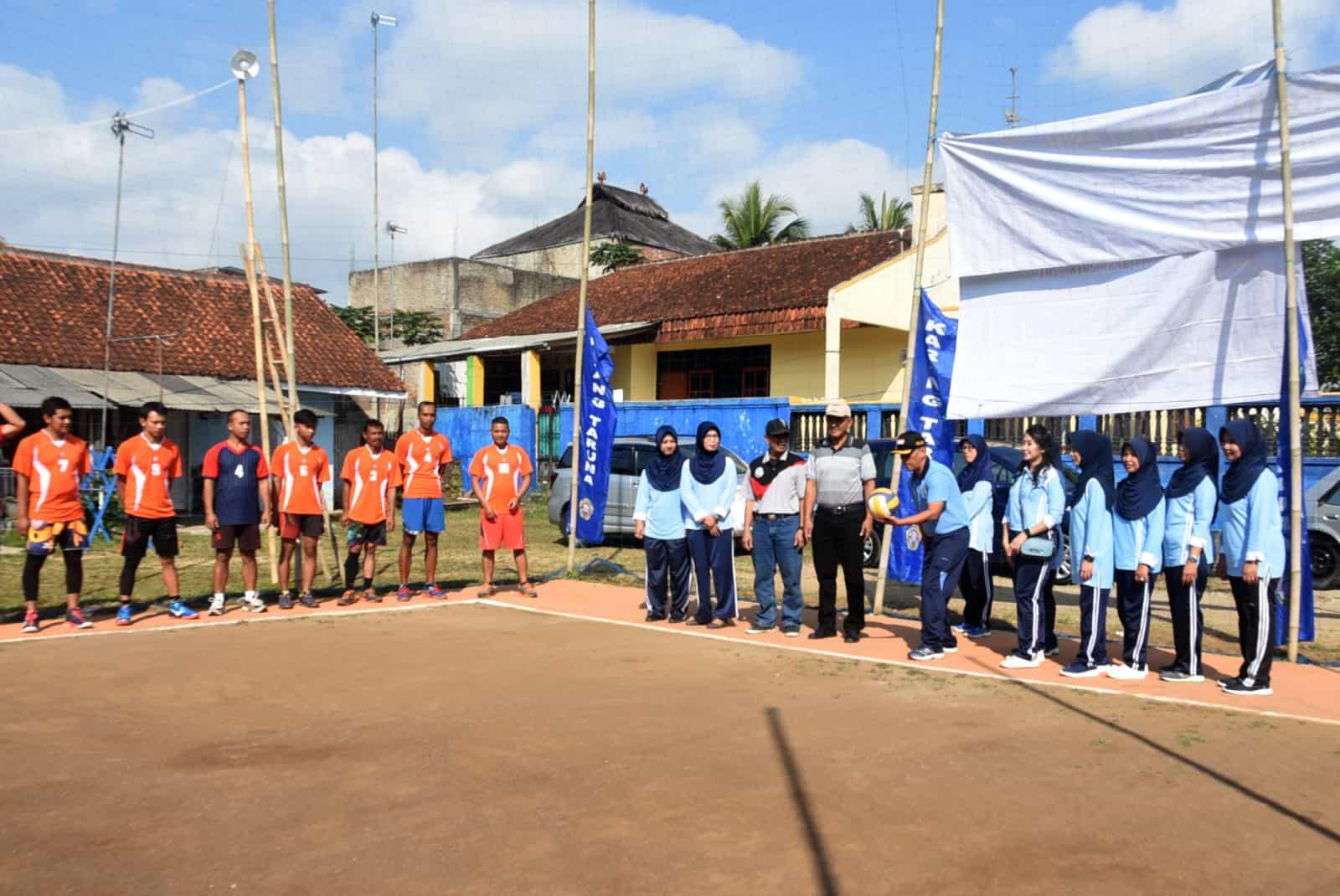 Lanud Wiriadinata Menggelar Turnamen Bola Voli Danlanud Cup Ke – 1 Tahun 2019