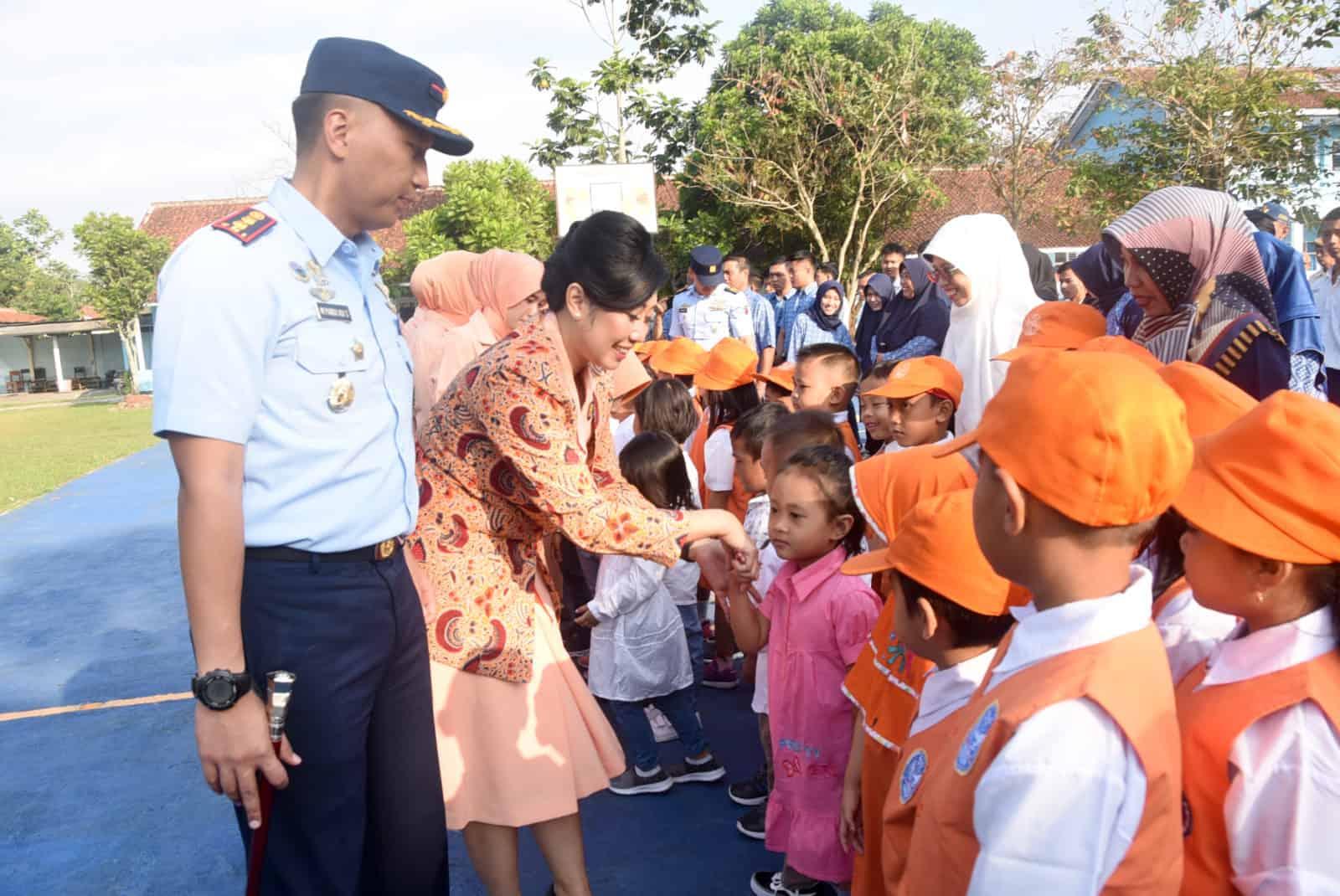 Komandan Lanud Wiriadinata Pimpin Upacara Pembukaan Peserta Didik Baru Sekolah Angkasa