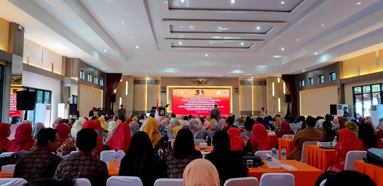 Yasarini Cabang Lanud Wiriadinata Menghadiri Rangkaian Kegiatan Hari Ulang Tahun Ke – 31 Yayasan Ardhya Garini