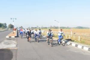 Gowes Bersama Wagub Aau Jarak 20 Km