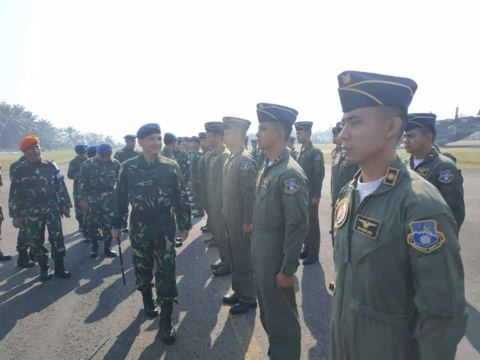 Apel Kesiapan Manuver Lapangan Latihan Angkasa Yudha 2019 Di Lanud Abdulrachman Saleh