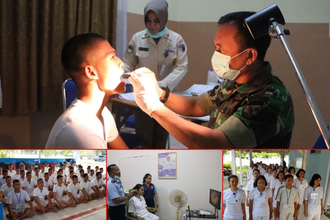 Karumkit Lanud Rsn: Calon Prajurit Tni Au Harus Memiliki Kesehatan Yang Ideal