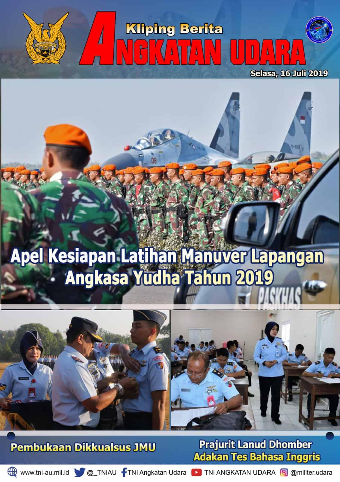 Kliping Berita Media 16 Juli 2019