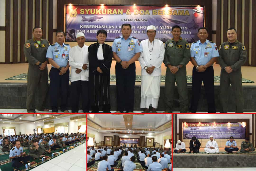Danlanud Rsn Ajak Prajurit Syukuran Dan Doa Bersama