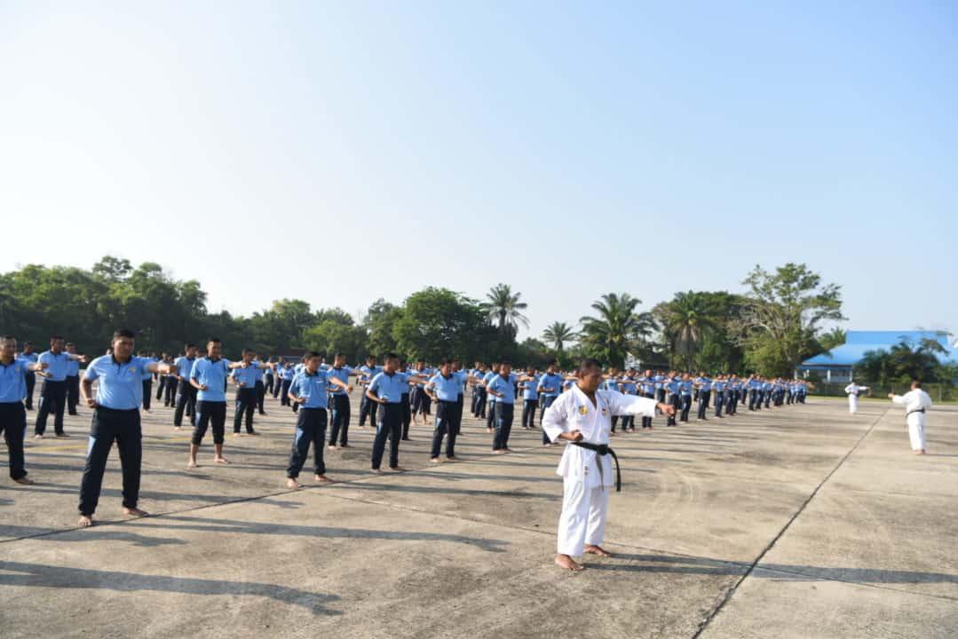 Danlanud Rsn, Personel Lanud Rsn Harus Miliki Beladiri Karate