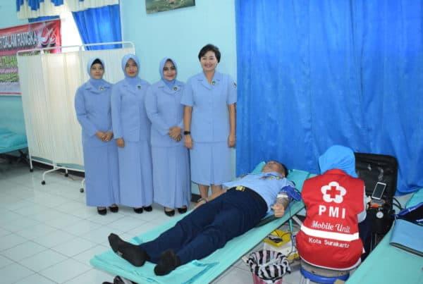 Lanud Adi Soemarmo Sumbang 113 Kantong Darah