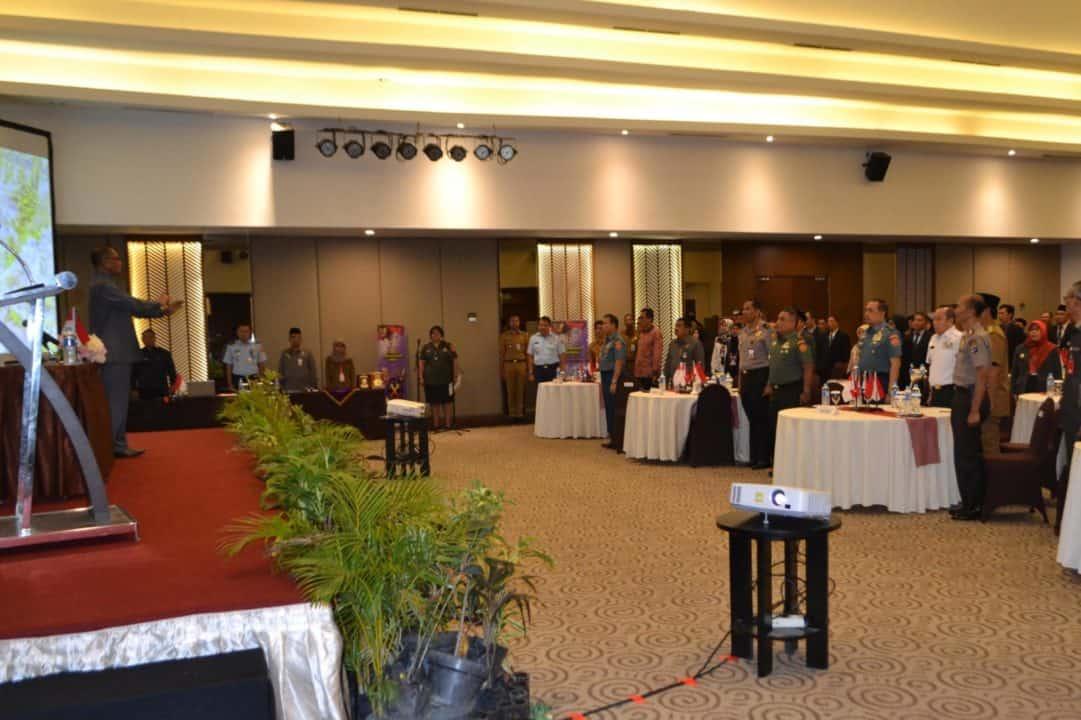 Komandan Lanud Sjamsudin Noor Ikuti Pembukaan Pelatihan Training Of Trainers (tot) Nilai-nilai Kebangsaan Oleh Lemhanas Ri Di Banjarmasin