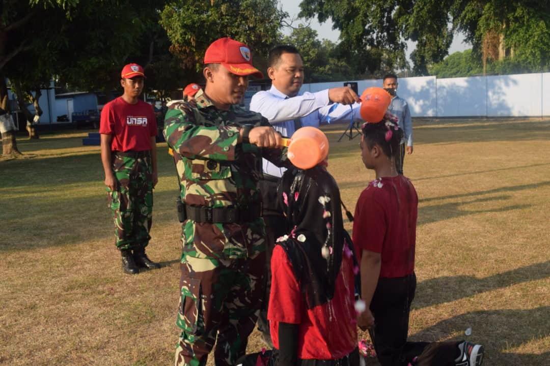Penutupan Pembinaan Kesadaran Bela Negara Universitas Surakarta Di Lanud Adi Soemarmo