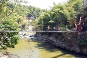 Dankorpaskhas Resmikan Jembatan Gantung Perintis Di Garut
