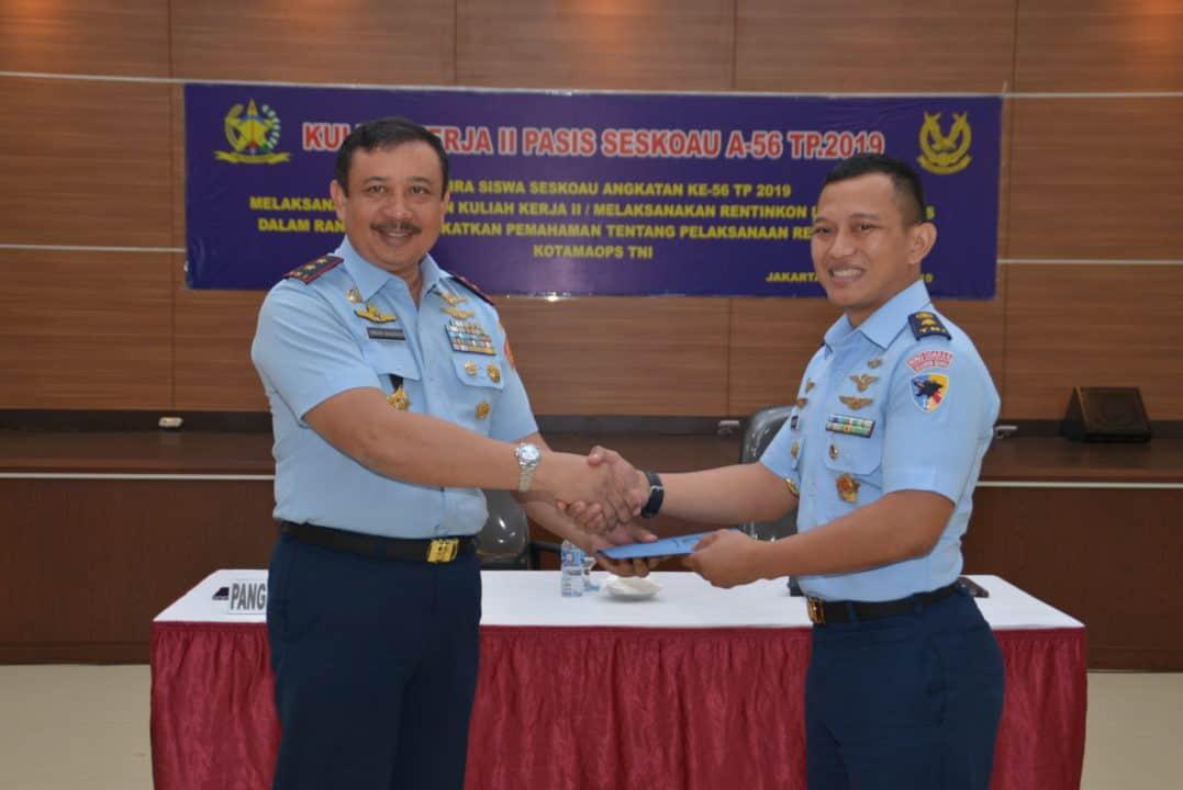 Kuliah Kerja Ii/ Rentinkon Pasis Seskoau A-56 Di Kohanudnas Di Tutup